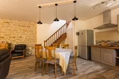 Un espace cuisine qui vous invite à tester les recettes bretonnes