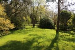 le jardin a été joliment aménagé